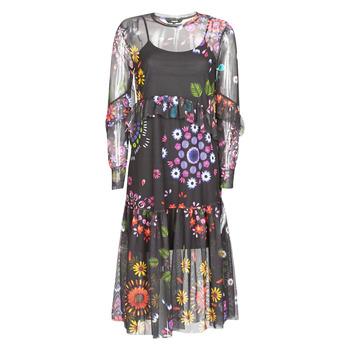 Ruhák Női Hosszú ruhák Desigual PORTLAND Sokszínű