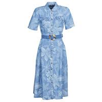 Ruhák Női Hosszú ruhák Desigual KATE Kék