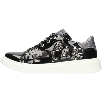 Cipők Női Rövid szárú edzőcipők GaËlle Paris G011 Black