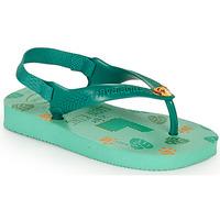 Cipők Gyerek Lábujjközös papucsok Havaianas BABY DISNEY CLASSICS II Zöld