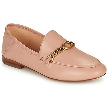 Cipők Női Mokkaszínek Coach HELENA LOAFER Rózsaszín / Bőrszínű