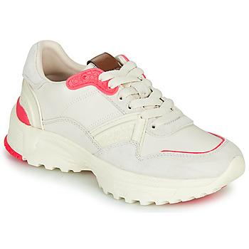 Cipők Női Rövid szárú edzőcipők Coach C143 RUNNER Fehér / Rózsaszín