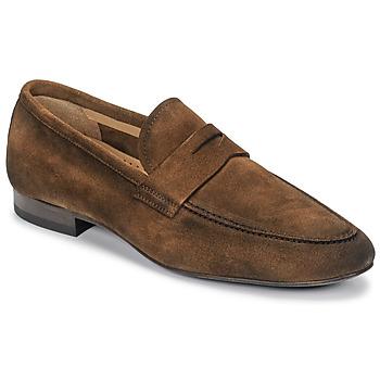Cipők Férfi Mokkaszínek Brett & Sons FIRICE Barna
