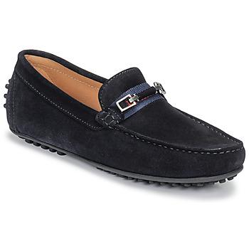 Cipők Férfi Mokkaszínek Brett & Sons FARICE Tengerész