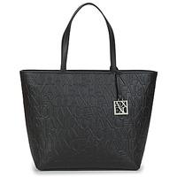 Táskák Női Bevásárló szatyrok / Bevásárló táskák Armani Exchange MANO Fekete