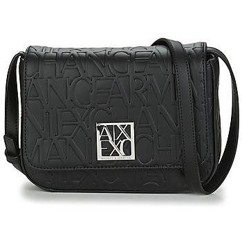 Táskák Női Válltáskák Armani Exchange MAN Fekete