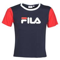 Ruhák Női Rövid ujjú pólók Fila SALOME Tengerész / Piros