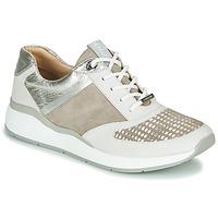 Cipők Női Rövid szárú edzőcipők JB Martin 1KALIO Bézs / Fehér / Ezüst