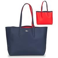 Táskák Női Bevásárló szatyrok / Bevásárló táskák Lacoste ANNA Tengerész / Piros