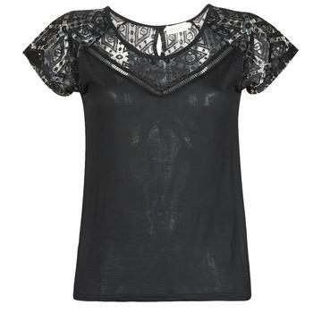 Ruhák Női Rövid ujjú pólók Deeluxe CLEA Fekete