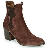 Cipők Női Bokacsizmák Moma NIAGARA - OLIVER Barna