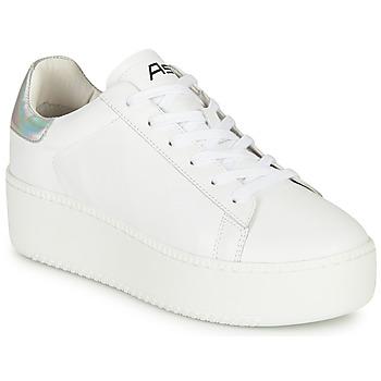 Cipők Női Rövid szárú edzőcipők Ash CULT Fehér