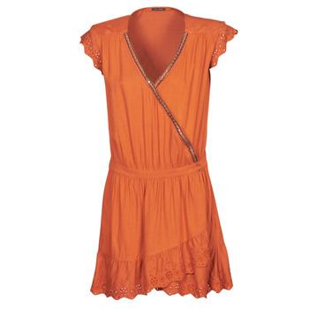 Ruhák Női Rövid ruhák Ikks BQ30155-75 Narancssárga