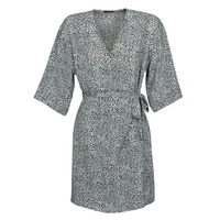 Ruhák Női Rövid ruhák Ikks BQ30415-03 Fekete  / Fehér