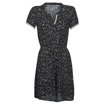 Ruhák Női Rövid ruhák One Step ROSA Fekete