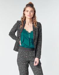 Ruhák Női Kabátok / Blézerek One Step NELLY Fekete
