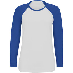 Ruhák Női Hosszú ujjú pólók Sols MILKY LSL SPORT Multicolor