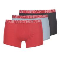 Fehérnemű Férfi Boxerek Athena BASIC COLOR Fekete  / Bordó / Szürke