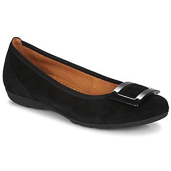 Cipők Női Balerina cipők  Gabor KITITPI Fekete