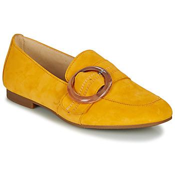 Cipők Női Mokkaszínek Gabor KROULINE Citromsárga