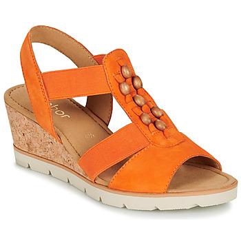 Cipők Női Szandálok / Saruk Gabor KALINA Narancssárga
