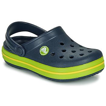 Cipők Gyerek Klumpák Crocs CROCBAND CLOG K Tengerész / Zöld