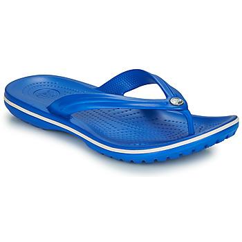 Cipők Lábujjközös papucsok Crocs CROCBAND FLIP Kék