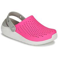 Cipők Lány Klumpák Crocs LITERIDE CLOG K Rózsaszín / Fehér