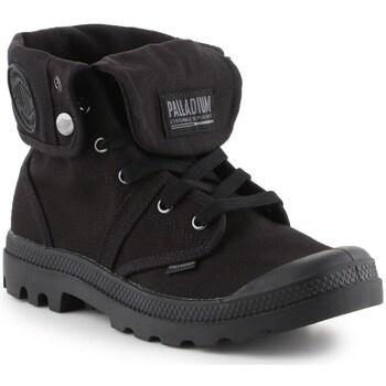Cipők Férfi Magas szárú edzőcipők Palladium Manufacture Baggy Fekete