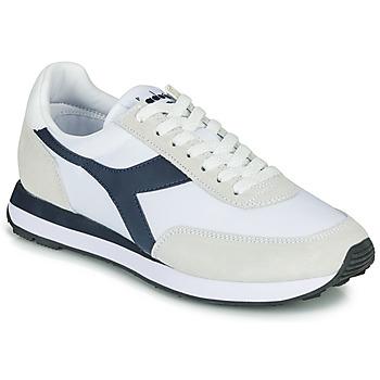 Cipők Rövid szárú edzőcipők Diadora KOALA Fehér / Kék