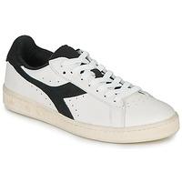 Cipők Rövid szárú edzőcipők Diadora GAME L LOW USED Fehér / Fekete