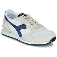 Cipők Rövid szárú edzőcipők Diadora CAMARO Bézs / Kék