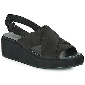 Cipők Női Szandálok / Saruk Camper MISIA Fekete