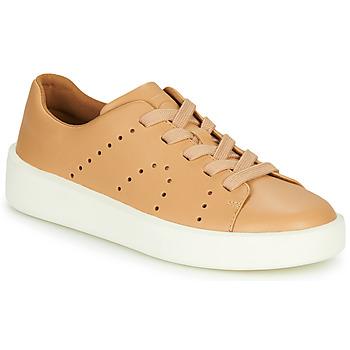 Cipők Női Rövid szárú edzőcipők Camper COURB Teve