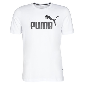 Ruhák Férfi Rövid ujjú pólók Puma ESSENTIAL TEE Fehér