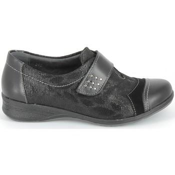 Cipők Oxford cipők & Bokacipők Boissy Derby 7510 Noir Texturé Fekete