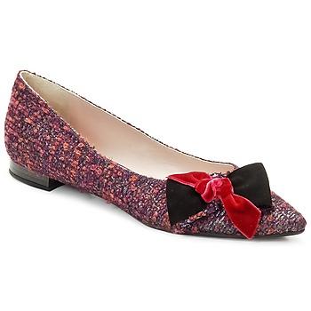 Cipők Női Balerina cipők / babák Magrit Rosy Knot Sokszínű / Rózsaszín