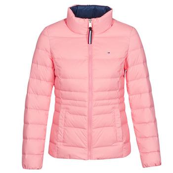 Ruhák Női Steppelt kabátok Tommy Jeans MODERN DOWN JKT Rózsaszín