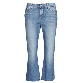 Ruhák Női Egyenes szárú farmerek Tommy Jeans KATIE CROP FLARE Kék / Átlagos