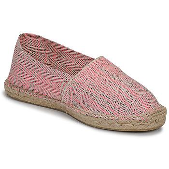 Cipők Női Gyékény talpú cipők Pare Gabia VP FLUO Rózsaszín / Fehér