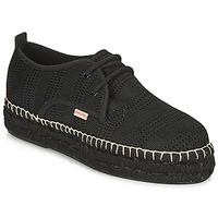 Cipők Női Gyékény talpú cipők Pare Gabia EBY Fekete