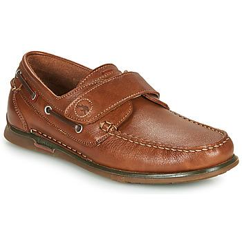 Cipők Férfi Vitorlás cipők Fluchos POSEIDON Barna