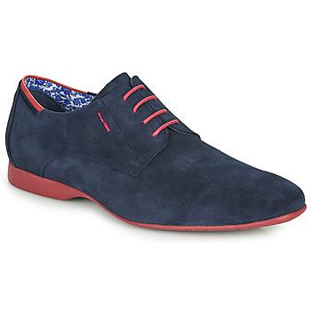 Cipők Férfi Oxford cipők Fluchos VESUBIO Tengerész / Piros