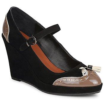 Shoes Női Félcipők C.Petula MAGGIE Fekete