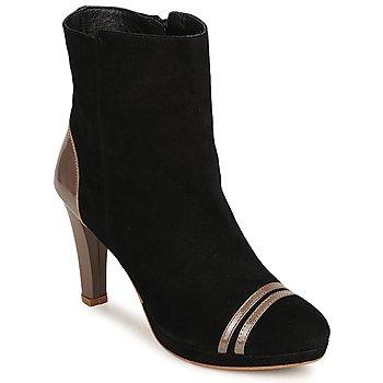 Cipők Női Bokacsizmák C.Petula KIMBER Fekete