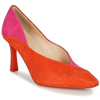Cipők Női Félcipők Hispanitas PARIS-7 Piros / Rózsaszín