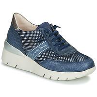 Cipők Női Rövid szárú edzőcipők Hispanitas RUTH Kék / Arany / Ezüst