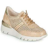 Cipők Női Rövid szárú edzőcipők Hispanitas RUTH Rózsaszín / Arany / Fehér