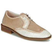 Cipők Női Oxford cipők Hispanitas LONDRES Bézs / Fehér