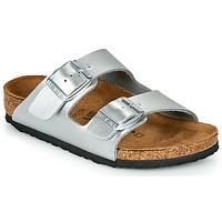 Cipők Lány Papucsok Birkenstock ARIZONA Ezüst